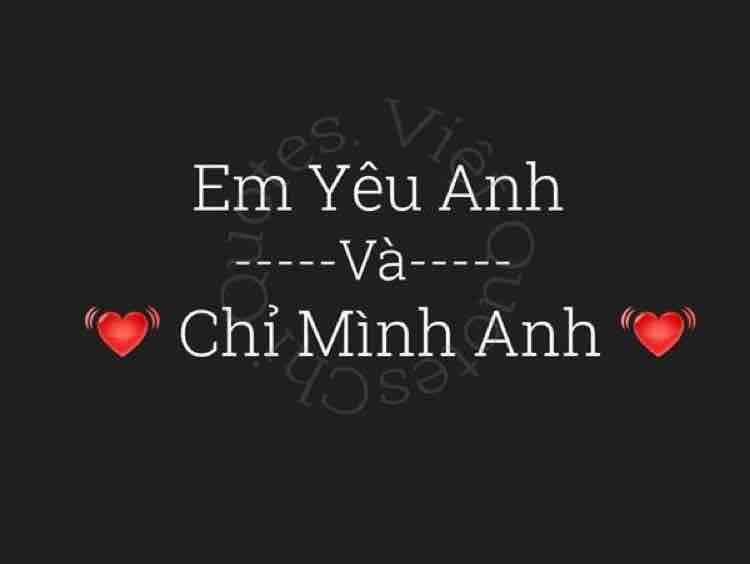 ❤️ Nguyện Mãi Yêu Anh ❤️
