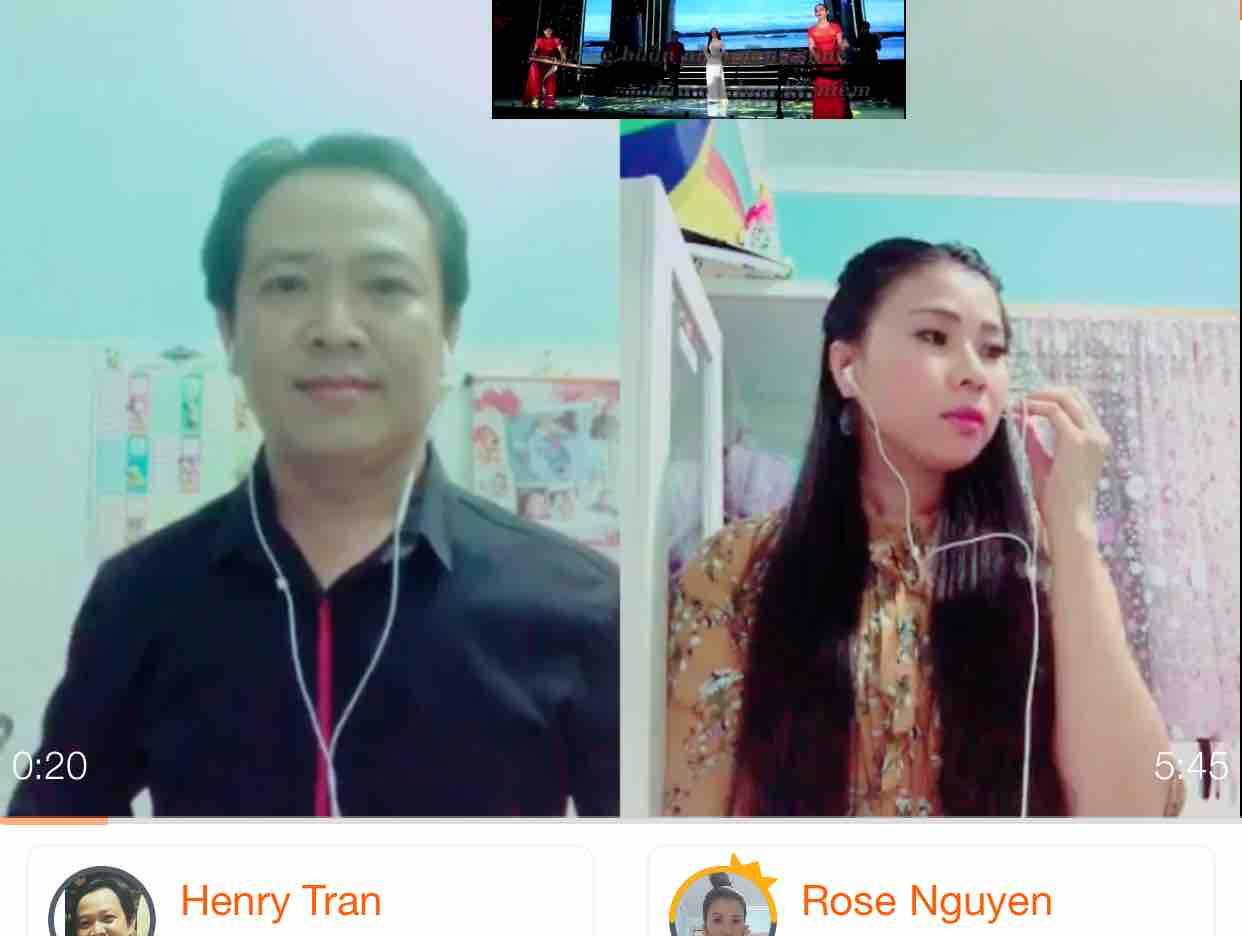[Karaoke] LK Tình Ngăn Đôi Bờ & Làm Dâu Xứ Lạ -Henry Tran&Rose Nguyen