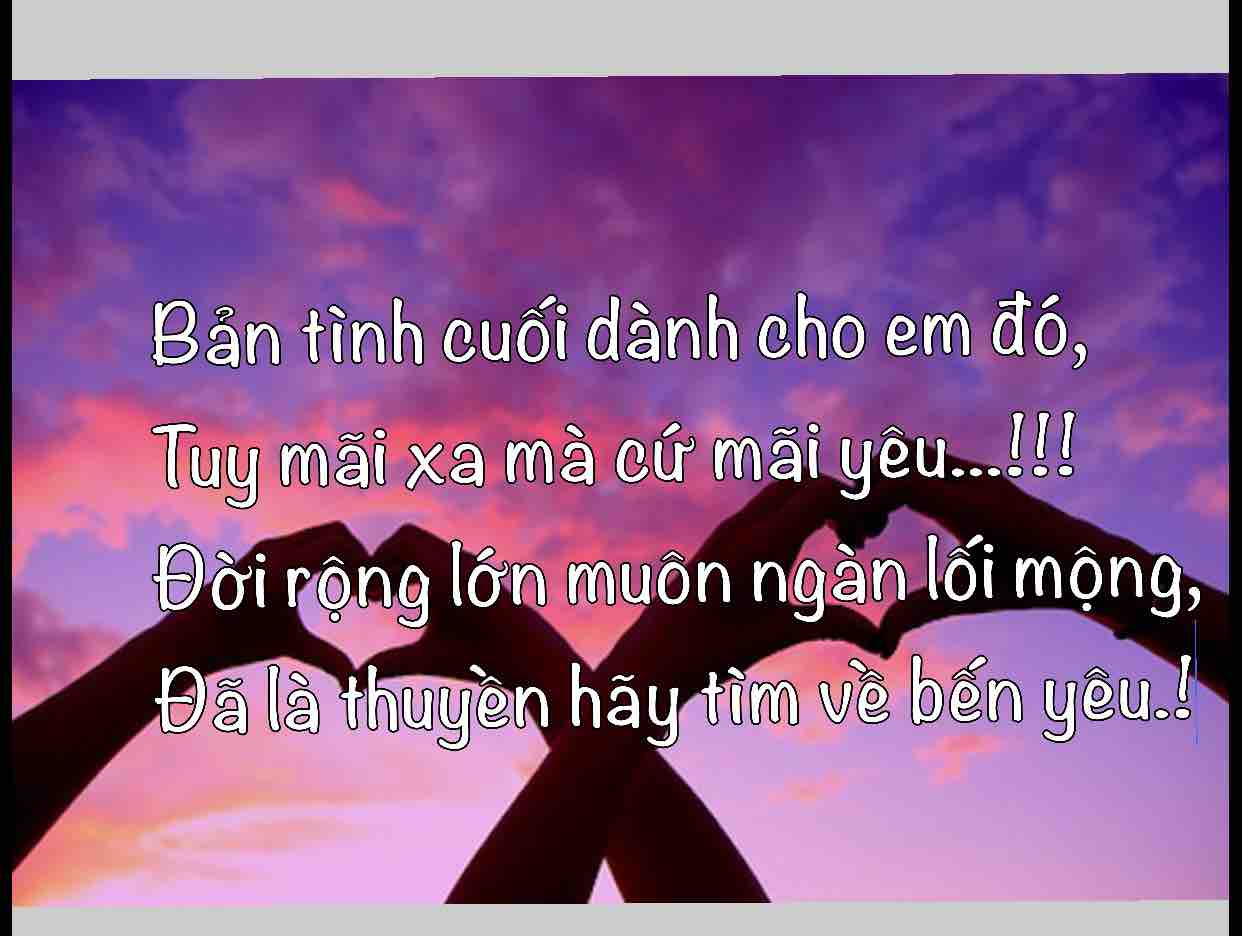 ⚜️Trang⚜️❤️Bản Tình Cuối❤️