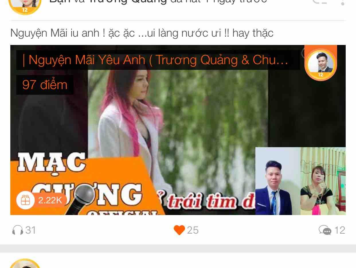 Nguyện Mãi Yêu Anh ( Trương Quảng & Chung Lê )