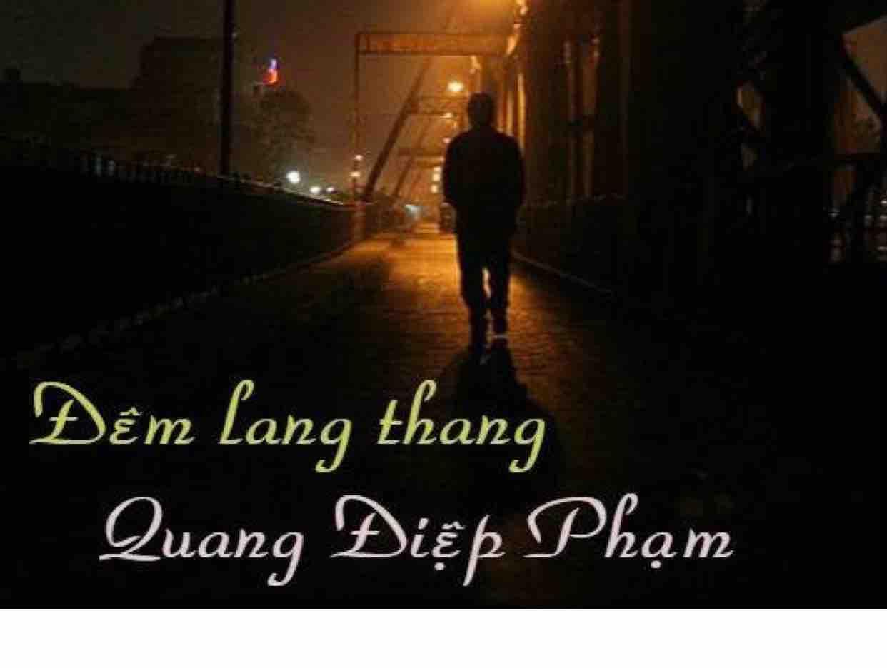 Đêm lang thang -Quang Điệp