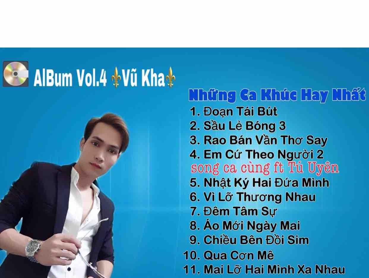 Album Vol.4 Vũ Kha