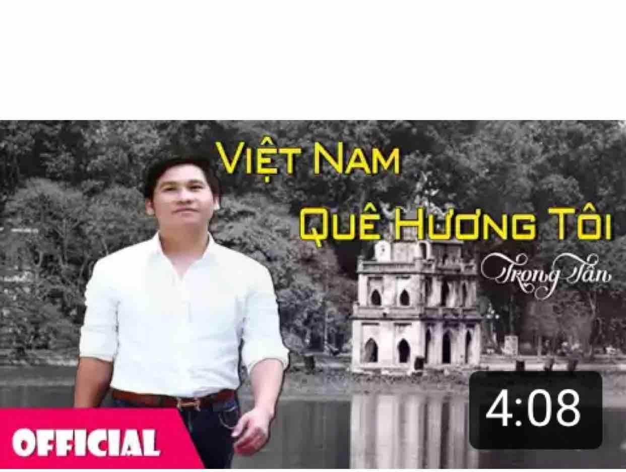 Karaoke Việt Nam quê hương tôi Trọng Tấn