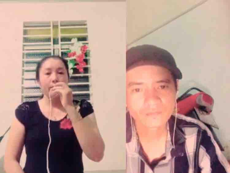 Khuya nay anh đi rồi karaoke hát với Lưu Ánh Loan