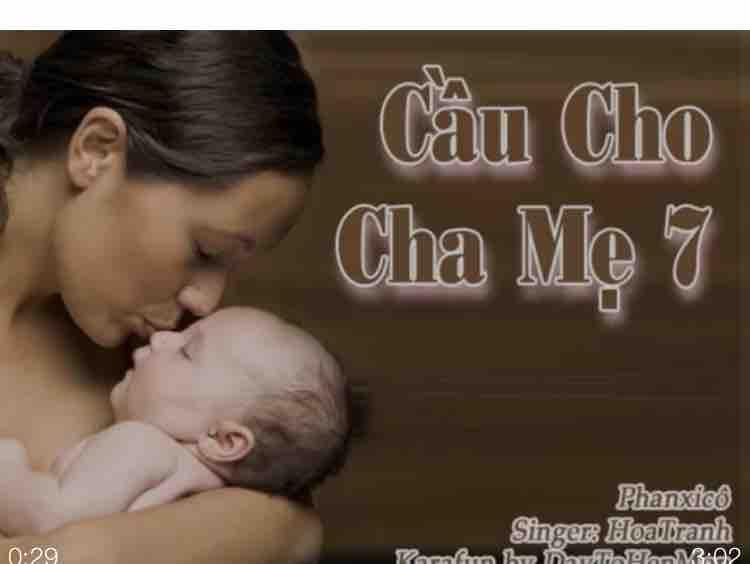 ✰ཽ Cầu Cho Cha Mẹ ✰ཽ