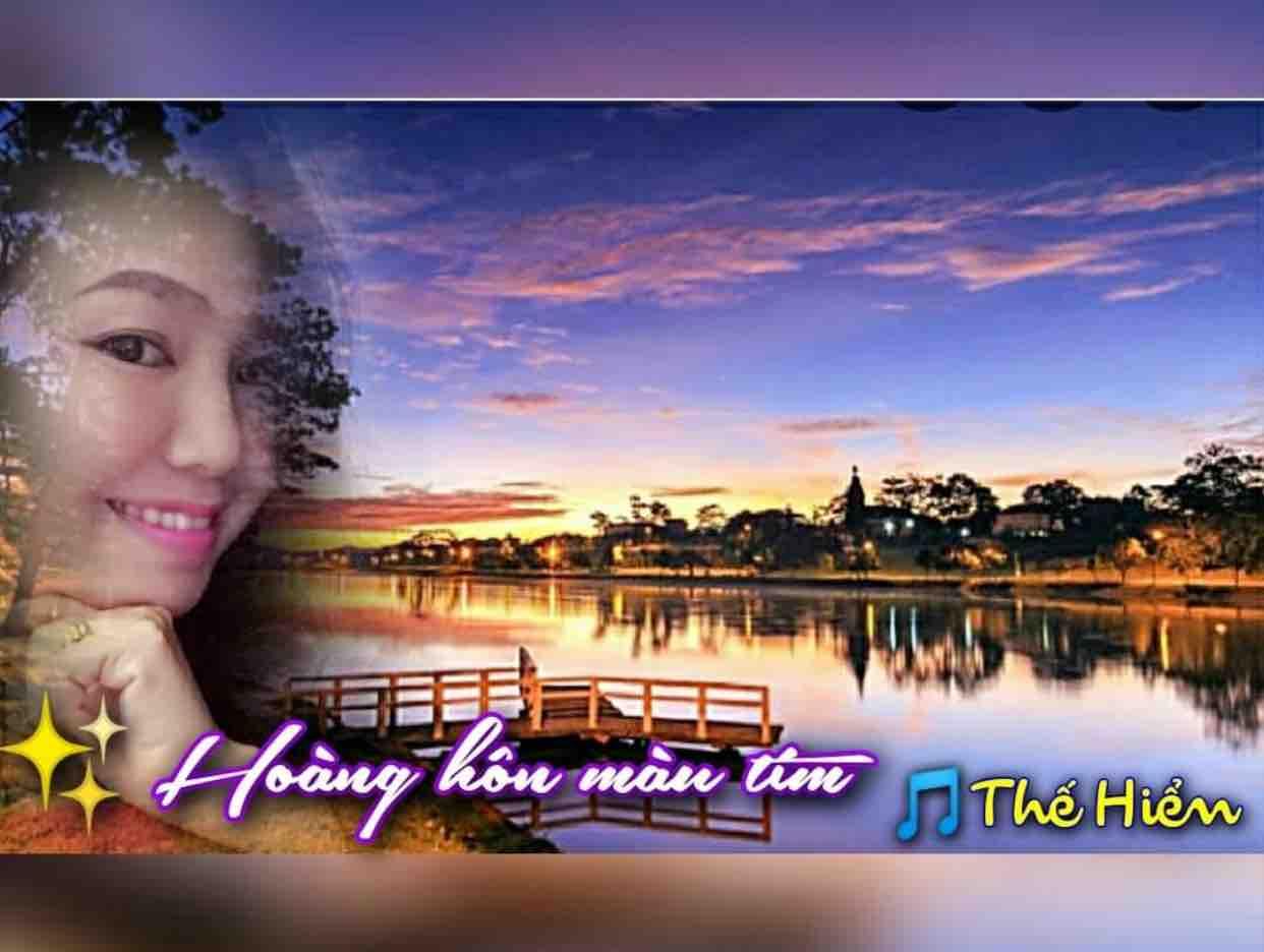 Karaoke Hoàng Hôn Màu Tím || Tone Nữ