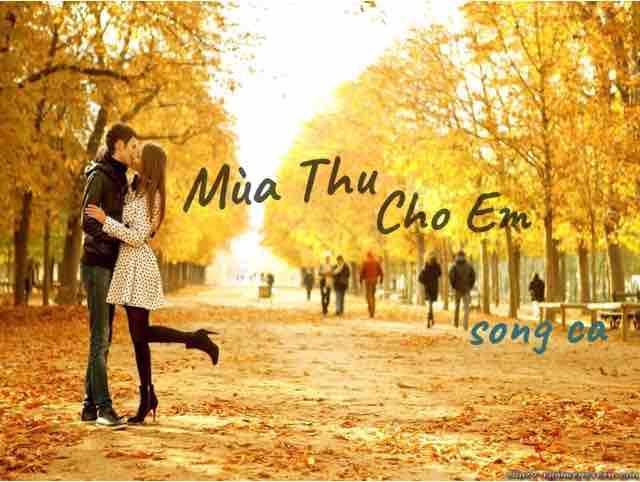 Mùa Thu Cho Em