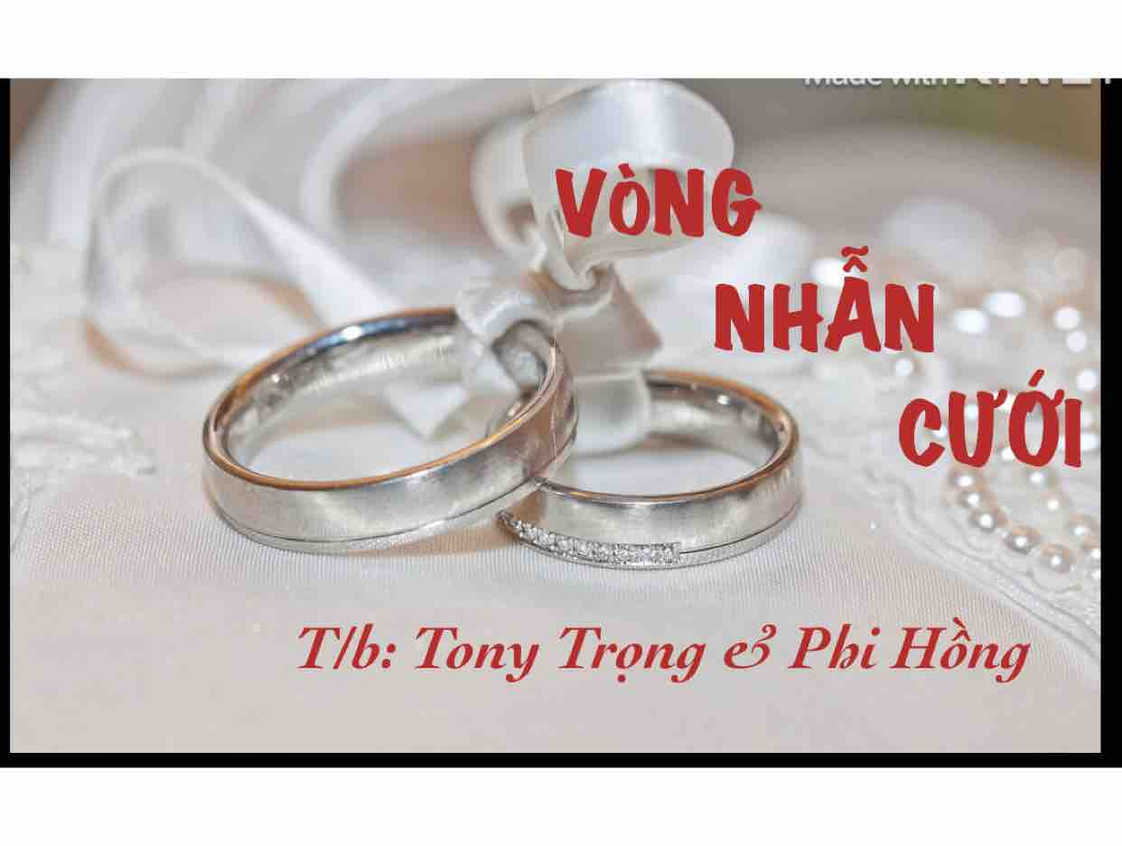 Vòng nhẫn cưới