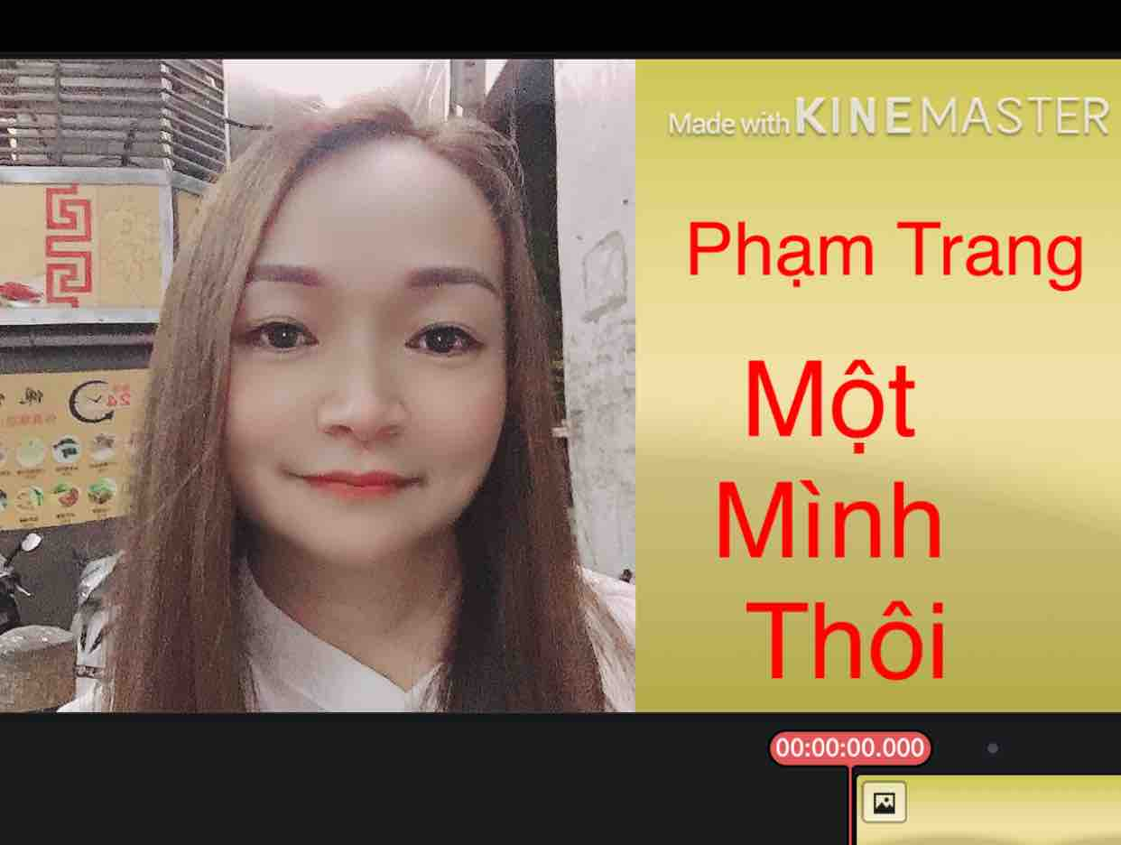 MỘT MÌNH THÔI  ^_^ Phạm Trang
