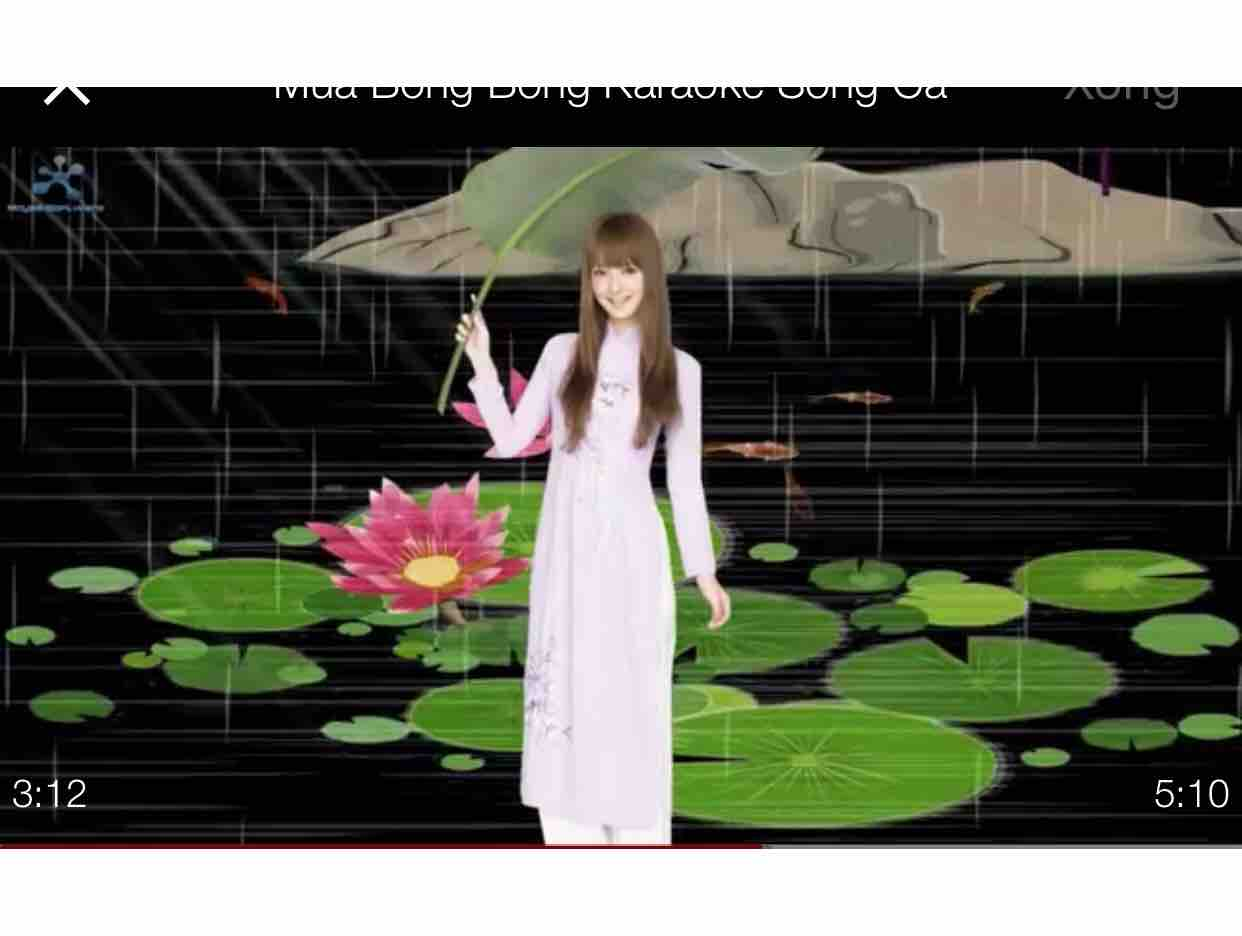 [ Karaoke} Mưa Chiều - Lâm Thúy Vân